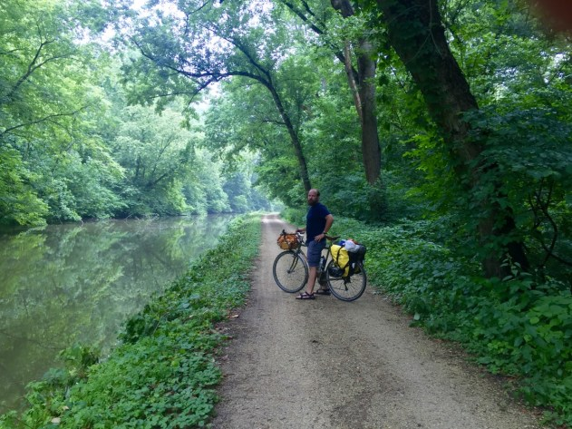 If you're on a bicycle, the Maryland side has more to offer than the Virginia side.