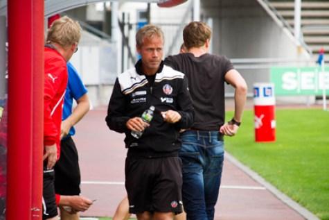 Ohlander och hans grabbar kämpar på för att bli bästa div2 lag i staden. Foto: Samone Falkman