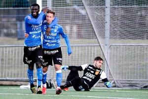 HIF får se upp med Kwame Karikari - ny från AIK Foto: Halmstad BK