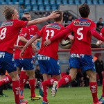 Video: Hör intervjuerna och kommentarerna efter derbysegern mot Högaborgs BK igår!