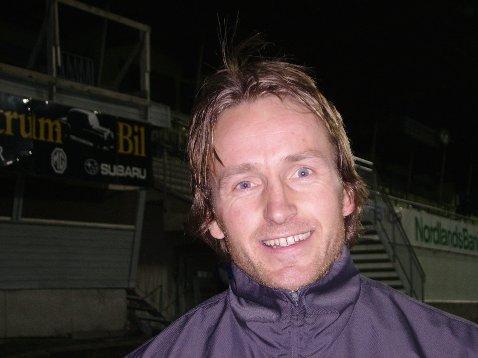 Stig Johansen är förevigt inskriven I HIFs historieböcker efter guldet 1999
