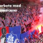 Avgörande dagar för svensk fotbolls nuvarande och framtida huvudsponsor.