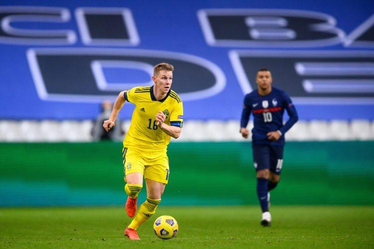 Emil Krafth med 90 minuter mot Estland