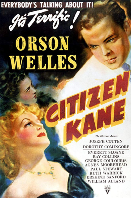 citizen kane - fourth top movie