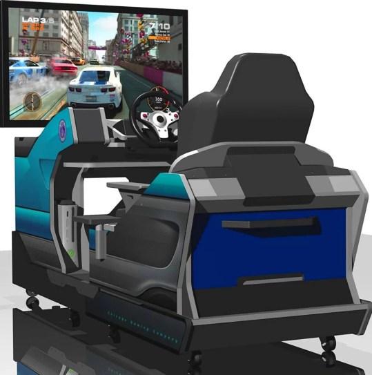 Chicago Gaming Racing Simulator