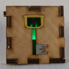 Kingdom Key LED Gift Box green