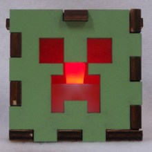 Minecraft Lit Red