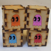 Ghost Group LED Gift Box