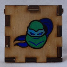TMNT LED Gift Box blue