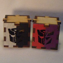 Transformers LED Gift Box group