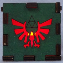 Zelda LED Gift Box red