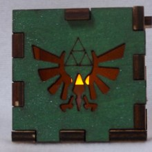 Zelda LED Gift Box yellow