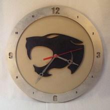 Thundercats Beige Background Clock