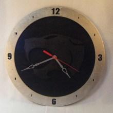 Thundercats Black Background Clock