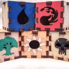 MTG Mana group LED Gift Box