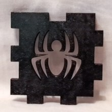 Spider Black LED Gift Box