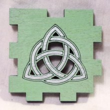 Triquetra Circle Mint LED Gift Box