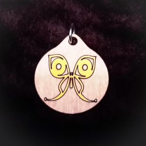 Butterfly Pendant/Keychain