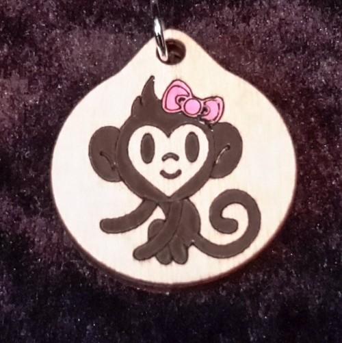 Monkey Girl Pendant