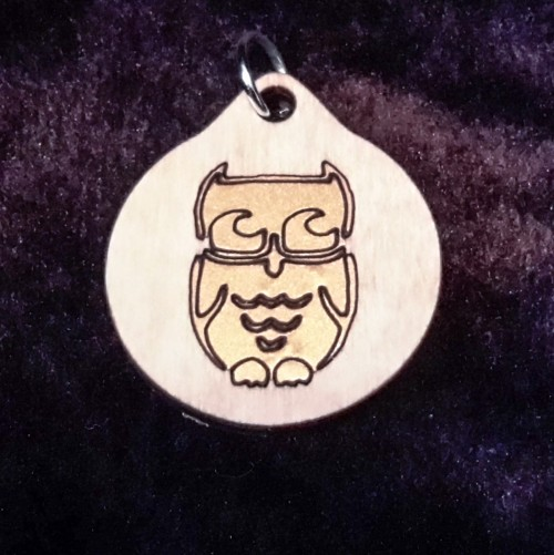 Owl Pendant/Keychain