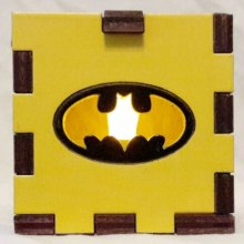 Batman LED Gift Box yellow