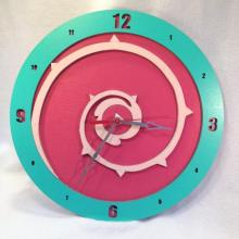 Rose Quartz Steven Universe Shield 14 inch wall clock