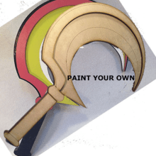 Paint Your Own Sickle 1