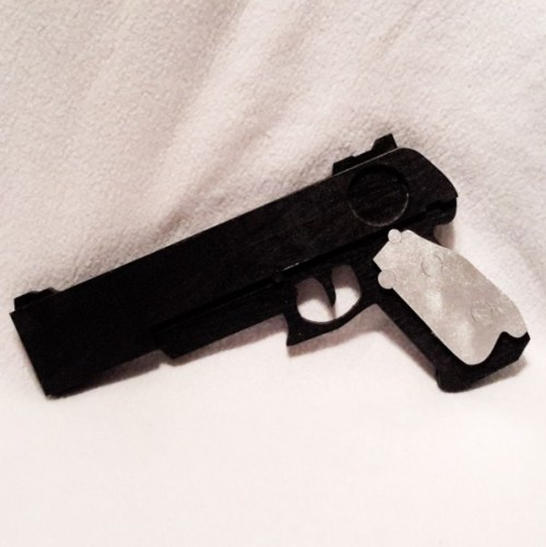 Black Cosplay Gun