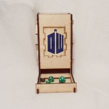 Doctor Who Dice Tower