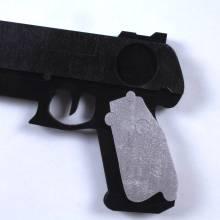 Black Cosplay Pistol