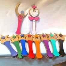 Kids Costume Size Chibi Moon Wand Cosplay Replica Halloween