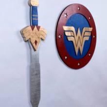 Wonder Woman Sword and Shield Cosplay Replica Set
