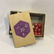 Dice Box D20 Open