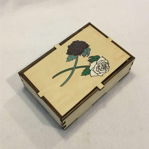 Roses Dice Box