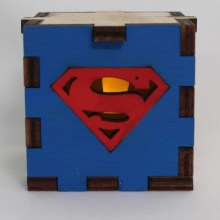 Superman LED Box Yellow
