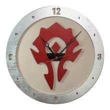 Horde Clock on Beige Background