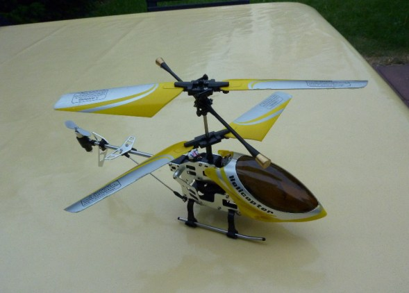 fun2get Helikopter FALCON-X Metal RTF mit GYRO-Technologie