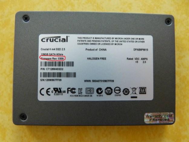 Crucial M4 SSD 128 GB