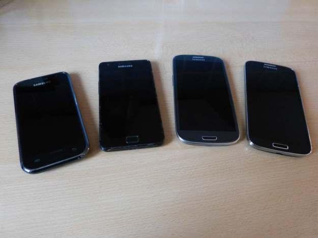 Samsung Galaxy S4 S3 S2 S1