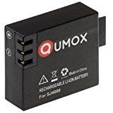 QUMOX Original Li-ion Batterie (3,7 Volt) schwarz für SJ4000 , SJ5000 Serie Sport Kamera