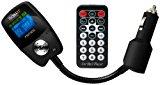 Technaxx FMT Transmitter mit Ladefunktion (3,8 cm (1,5 Zoll) LCD Display, USB Slot, SD/MMC Kartenslot, 3,5mm Klinkenanschluss) schwarz