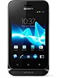 Sony Xperia tipo Smartphone (8,1 cm (3,2 Zoll) Touchscreen, 3,2 Megapixel Kamera, Android 4.0) schwarz