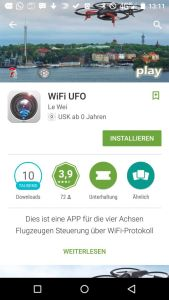 JJRC H26W Ufo App