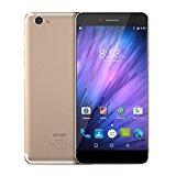 Vernee Mars Smartphone ohne Vertrag 4G Android 6.0 (Seitlich Montierten Fingerabdruck,Bildschirm 5,5 FHD, 1920 * 1080, Octa-Core 4GB Ram,32GB Rom, 13MP Kamera 1080P Video Typ-C,Ultra schmale Grenze,Metallgehäuse)
