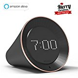 Vobot Smart Alarm Clock mit Amazon Alexa/Zeitplanverwaltung/Radiowecker/Snooze & Nap Funktion/Timer/WIFI/ LED Dot- Matrix Display