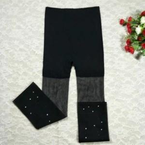 Diamond non-mesh Stockings