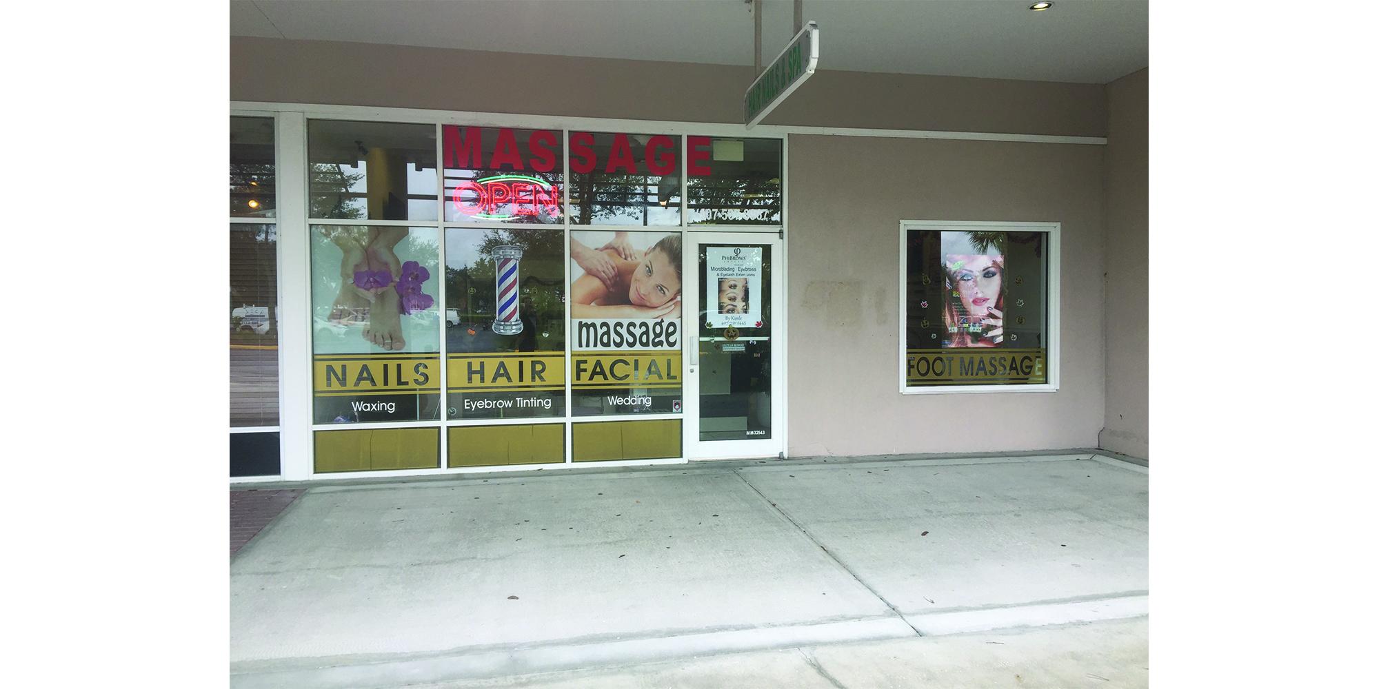 Nails Hair Mage Barber Haircut Near Disney World Our Nail Salon