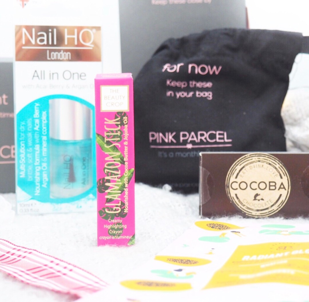 Pink Parcel Subscription Box Review