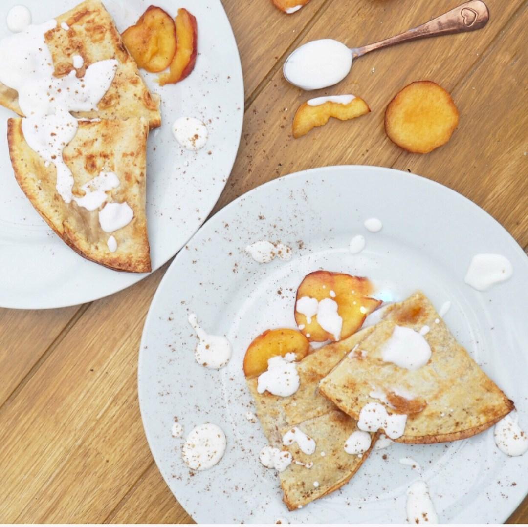 Peach Tortilla Recipe