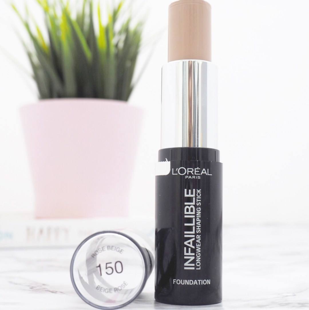 L'Oreal Infallible LongWear Shaping Stick Review